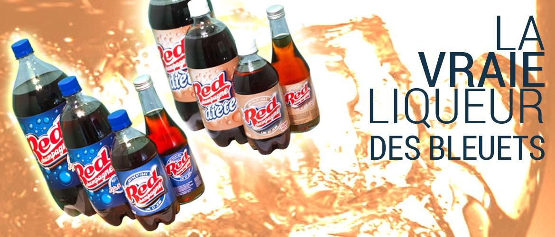 Le Red Champagne, la liqueur officielle du Lac-St-Jean